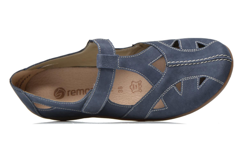 Ballerina's Remonte Pandora D2801 Blauw links