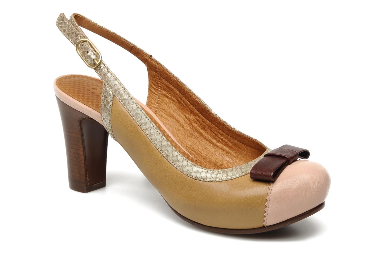 Zapatos de tacón Chie Mihara Becky Beige vista de detalle / par