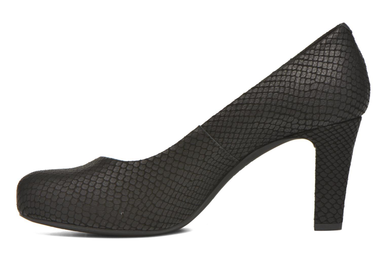 High heels Unisa Numis Black front view