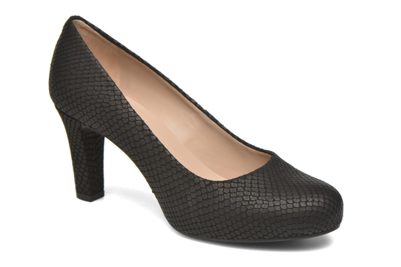High heels Unisa Numis Black detailed view/ Pair view