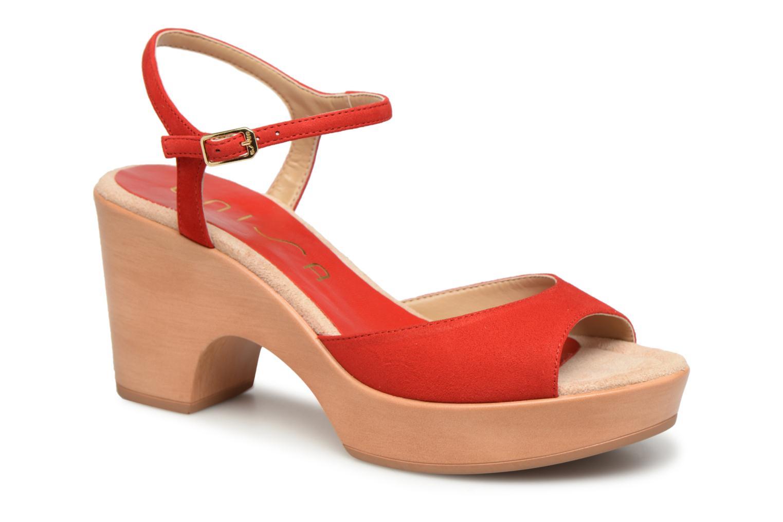 Grandes descuentos últimos zapatos Unisa Ontral (Rojo) - Sandalias Descuento