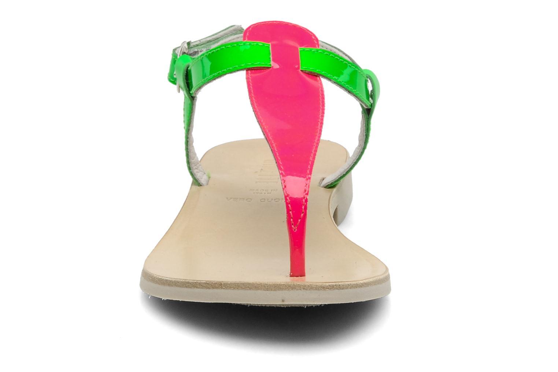 Sandalen Ninette en fleurs 7030 grün schuhe getragen
