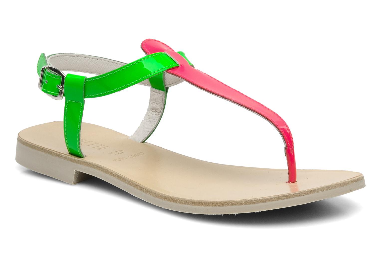Sandalen Ninette en fleurs 7030 grün detaillierte ansicht/modell