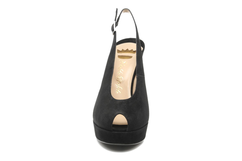 Sandales et nu-pieds Ernesto Esposito Elia Noir vue portées chaussures