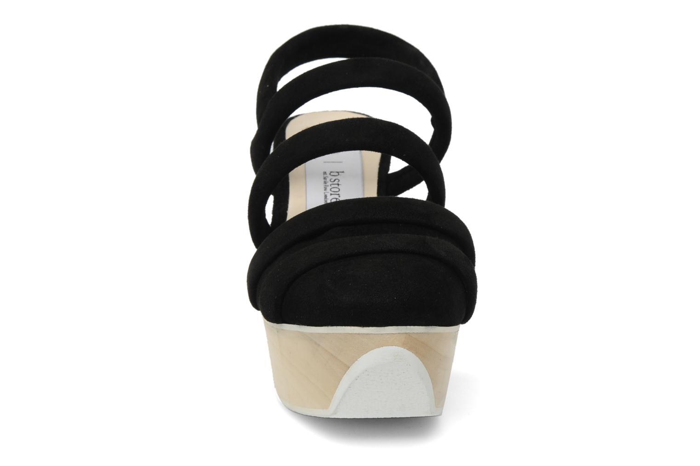 Sandales et nu-pieds B Store Edwige 6 Noir vue portées chaussures
