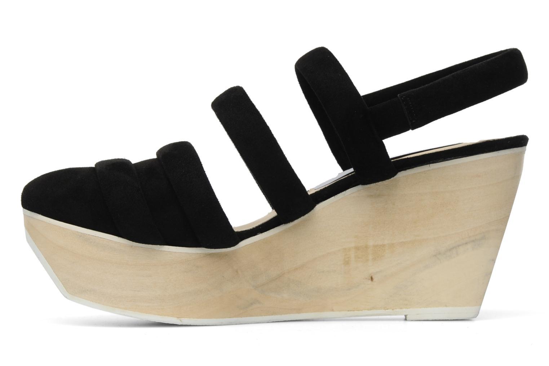 Sandales et nu-pieds B Store Edwige 6 Noir vue face