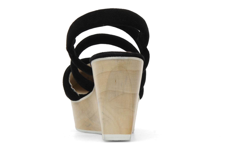 Sandales et nu-pieds B Store Edwige 6 Noir vue droite