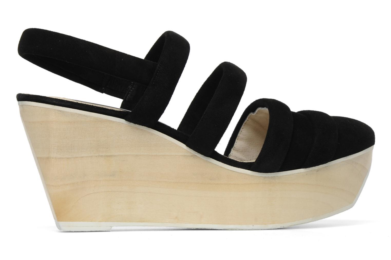 Sandales et nu-pieds B Store Edwige 6 Noir vue derrière