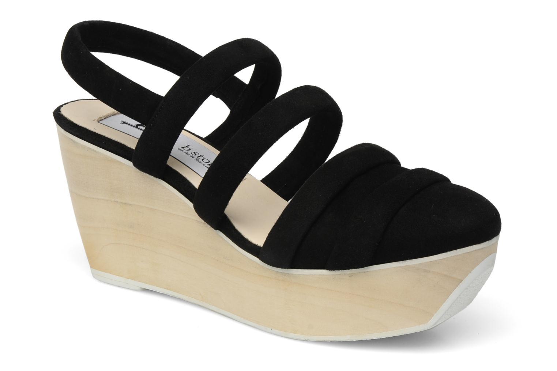Sandales et nu-pieds B Store Edwige 6 Noir vue détail/paire