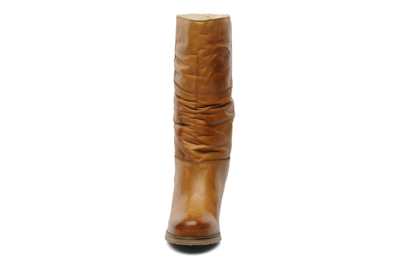 Stiefeletten & Boots Dune London ROCHA orange schuhe getragen
