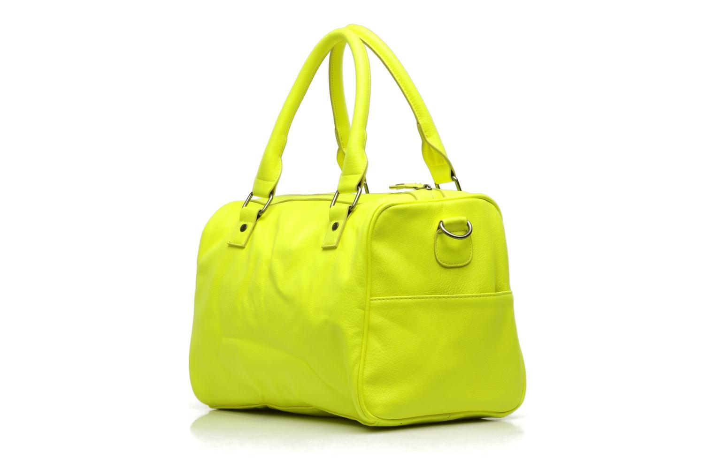 Bolsos de mano Pieces Ginny Bag Amarillo vista del modelo