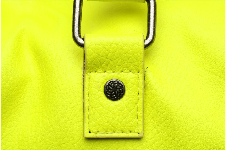 Bolsos de mano Pieces Ginny Bag Amarillo vista lateral izquierda