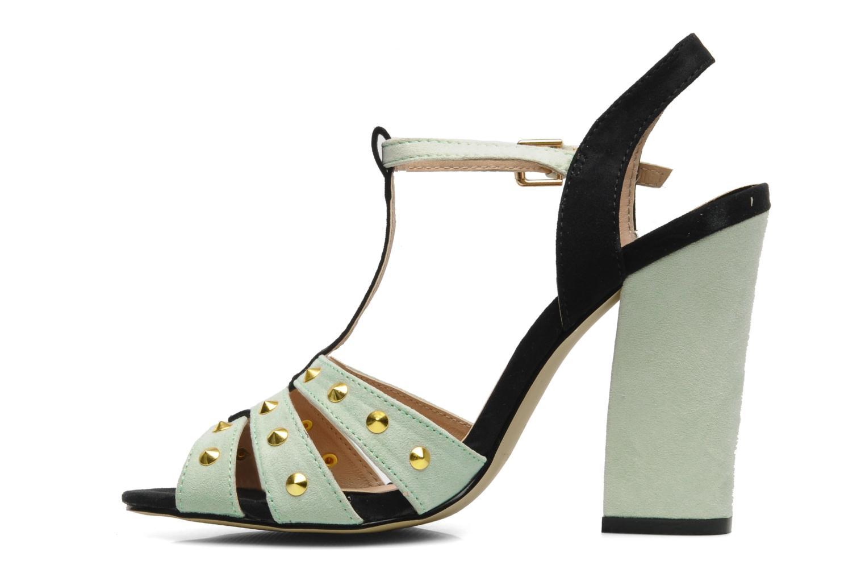 Sandalen I Love Shoes Phopealing grün ansicht von vorne