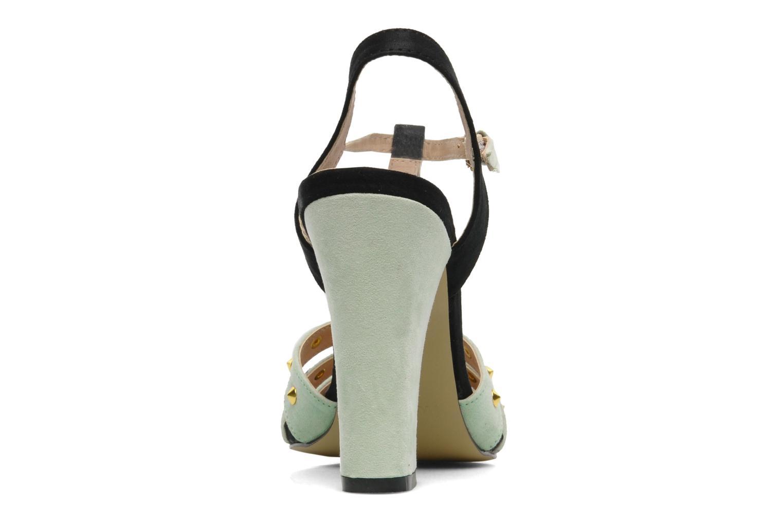 Sandalen I Love Shoes Phopealing grün ansicht von rechts