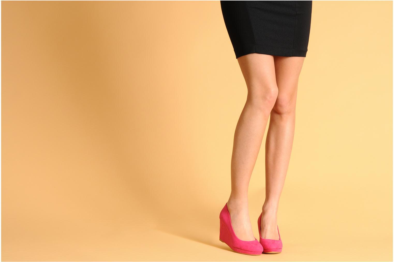 Escarpins I Love Shoes Nev 2 Noir vue bas / vue portée sac