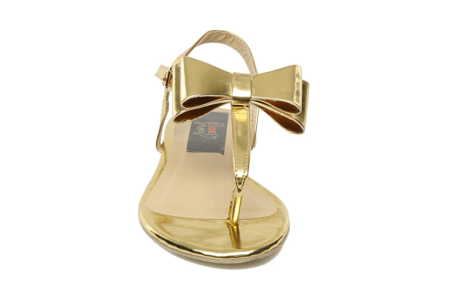Sandalen I Love Shoes Pholala Goud en brons model