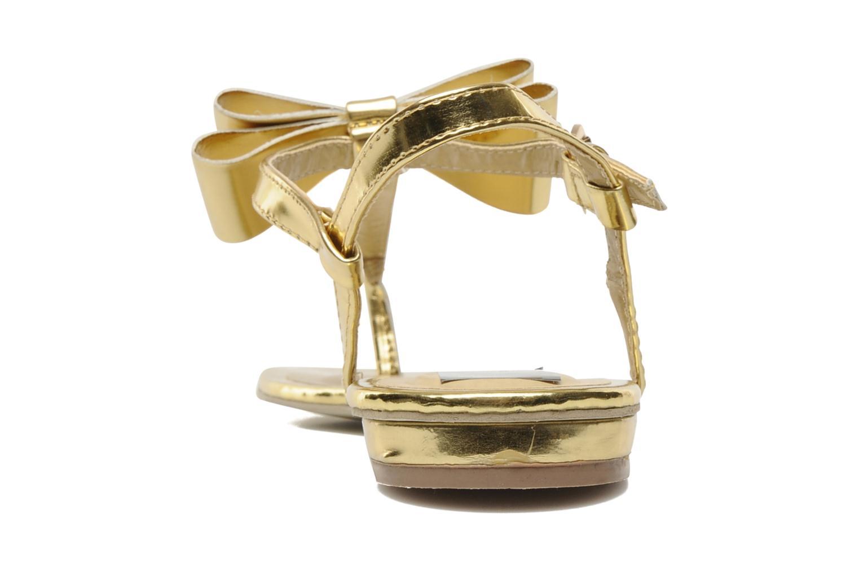 Sandalen I Love Shoes Pholala Goud en brons rechts