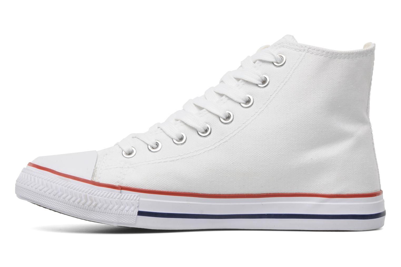 Sneaker I Love Shoes Phobize weiß ansicht von vorne