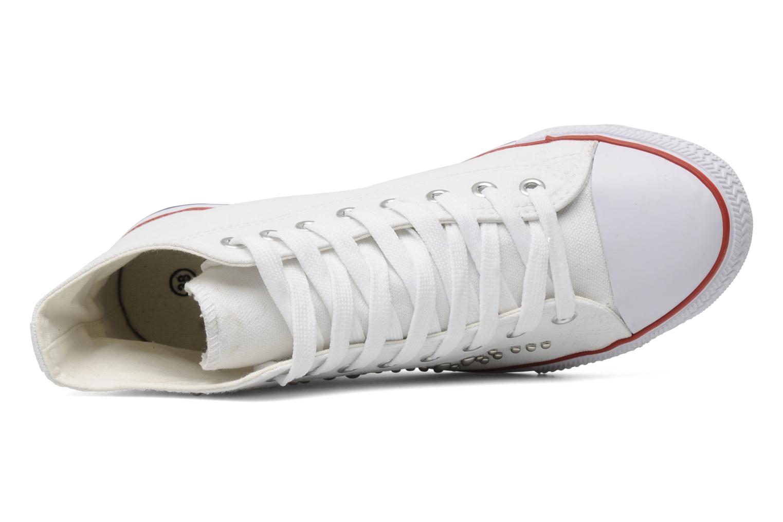 Sneaker I Love Shoes Phobize weiß ansicht von links