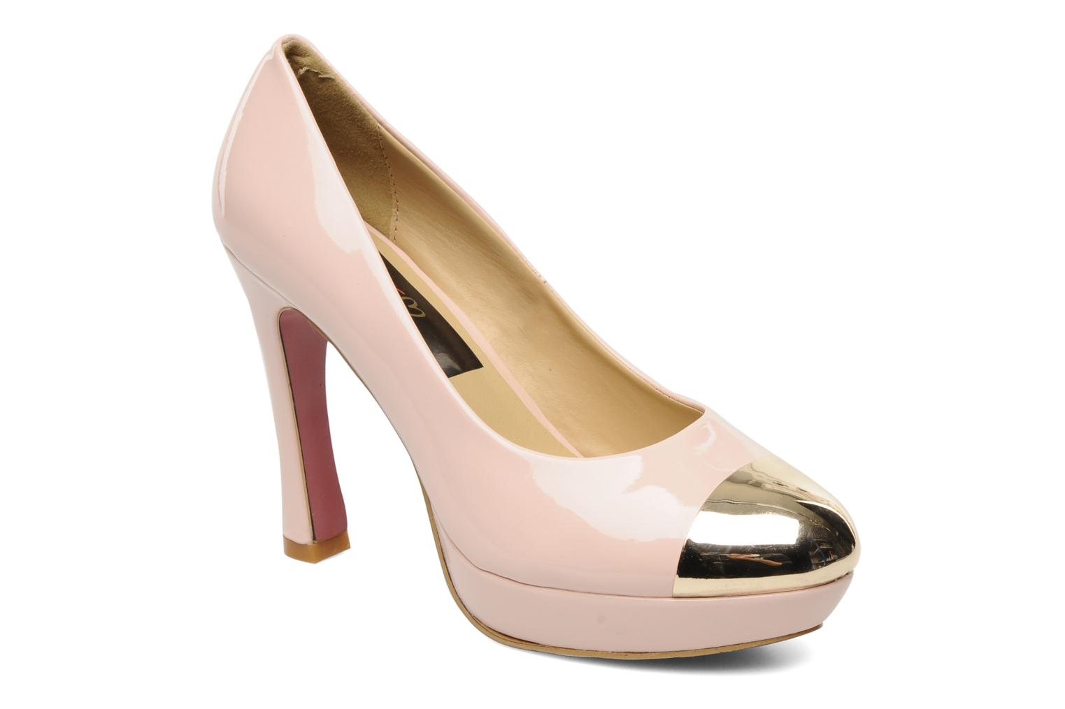 High heels I Love Shoes Phofolle Pink detailed view/ Pair view