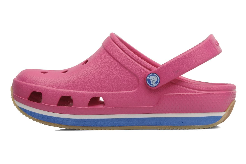 Sandalen Crocs Cros Retro Clog Kids rosa ansicht von vorne