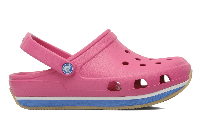 Sandalen Crocs Cros Retro Clog Kids rosa ansicht von hinten