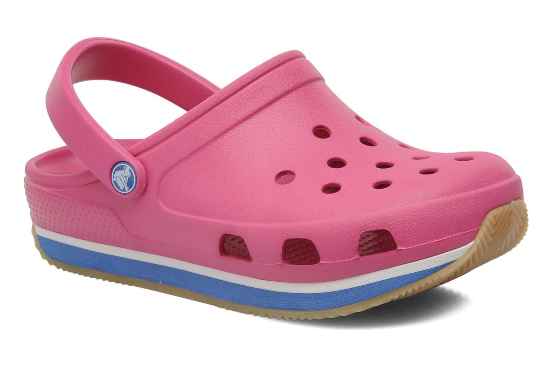 Sandalen Crocs Cros Retro Clog Kids rosa detaillierte ansicht/modell