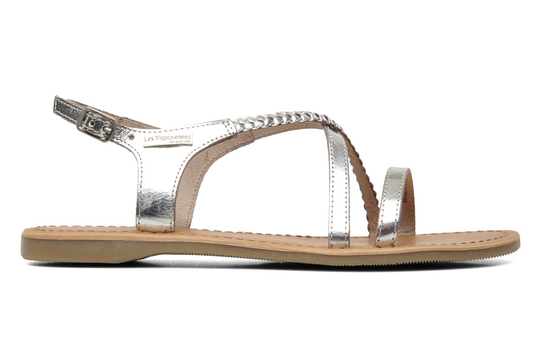 Sandalen Les Tropéziennes par M Belarbi Hanano silber ansicht von hinten