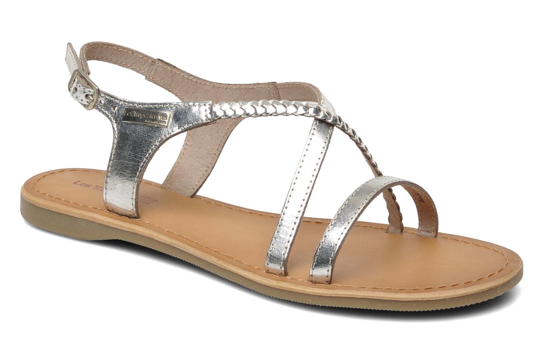 Sandales et nu-pieds Les Tropéziennes par M Belarbi Hanano Argent vue  détail/paire