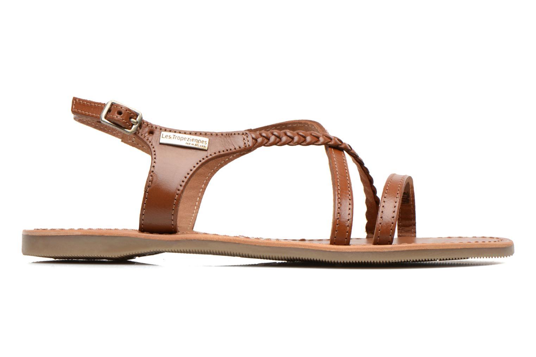 Sandales et nu-pieds Les Tropéziennes par M Belarbi Hanano Marron vue derrière