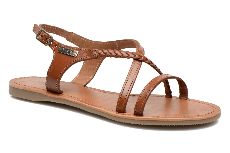 Sandales et nu-pieds Les Tropéziennes par M Belarbi Hanano Marron vue détail/paire