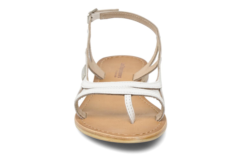 Sandalen Les Tropéziennes par M Belarbi Isatis weiß schuhe getragen