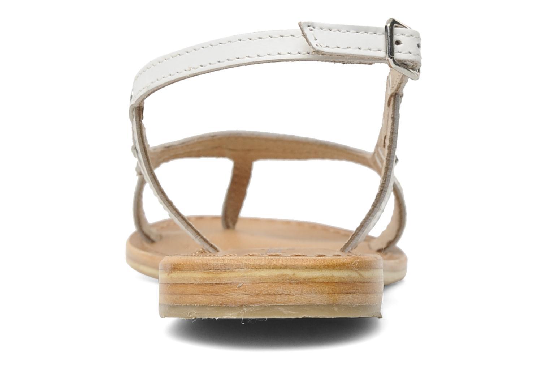 Sandales et nu-pieds Les Tropéziennes par M Belarbi Isatis Blanc vue droite