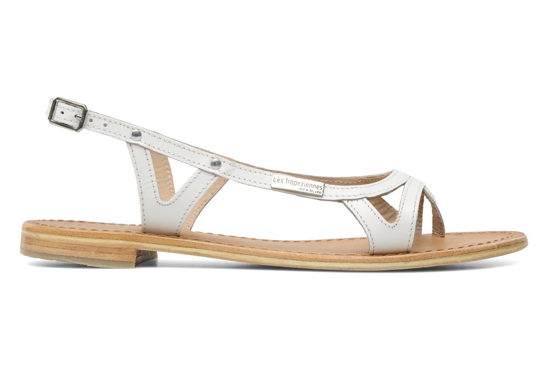 Sandales et nu-pieds Les Tropéziennes par M Belarbi Isatis Blanc vue derrière