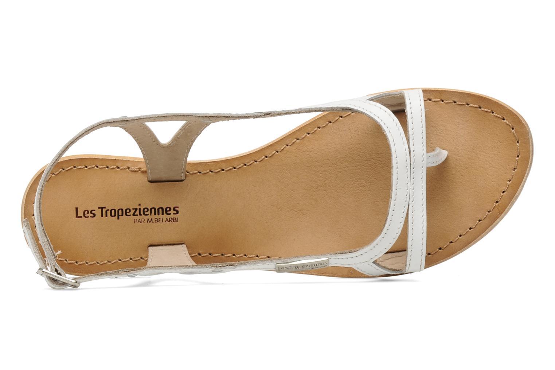 Sandales et nu-pieds Les Tropéziennes par M Belarbi Isatis Blanc vue gauche