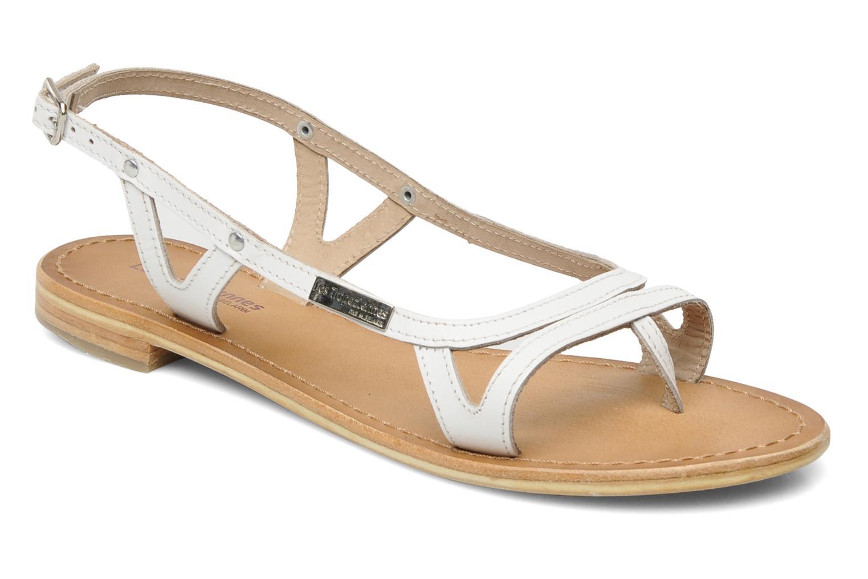 Sandales et nu-pieds Les Tropéziennes par M Belarbi Isatis Blanc vue détail/paire