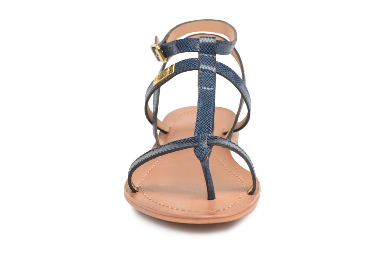 Sandales et nu-pieds Les Tropéziennes par M Belarbi Hilan Bleu vue portées chaussures