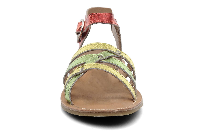 Sandales et nu-pieds Les Tropéziennes par M Belarbi Winny E Multicolore vue portées chaussures