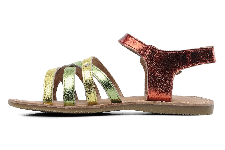 Sandales et nu-pieds Les Tropéziennes par M Belarbi Winny E Multicolore vue face