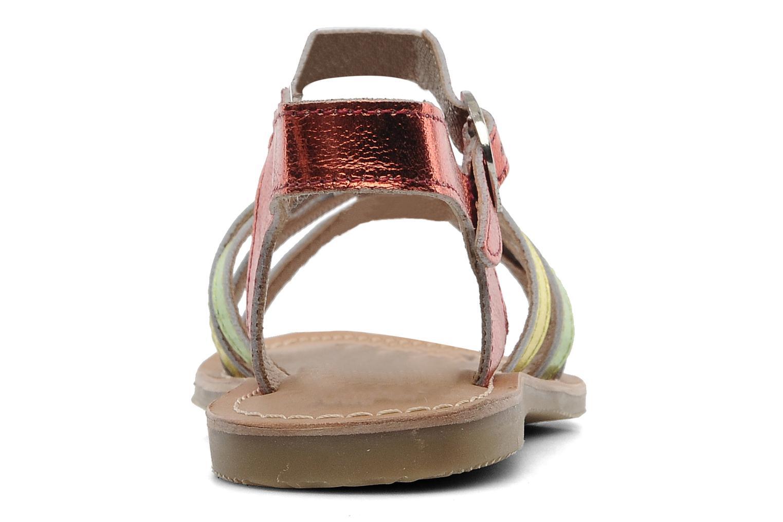 Sandales et nu-pieds Les Tropéziennes par M Belarbi Winny E Multicolore vue droite
