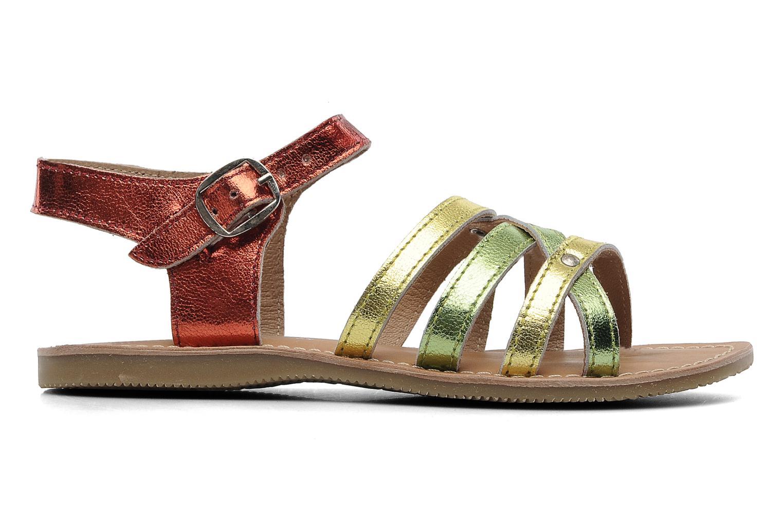 Sandales et nu-pieds Les Tropéziennes par M Belarbi Winny E Multicolore vue derrière