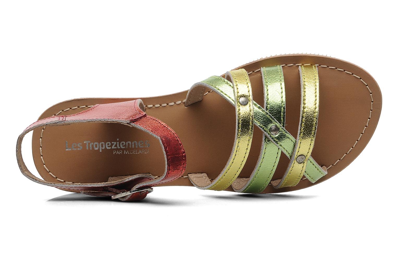 Sandales et nu-pieds Les Tropéziennes par M Belarbi Winny E Multicolore vue gauche