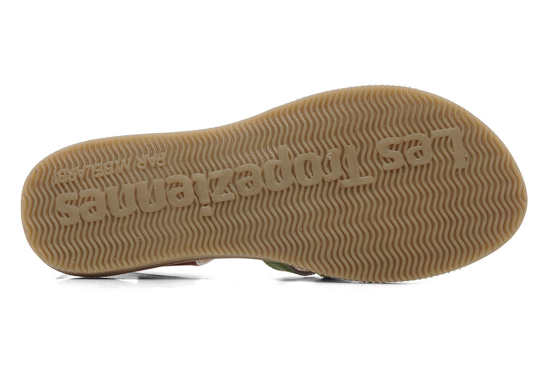Sandales et nu-pieds Les Tropéziennes par M Belarbi Winny E Multicolore vue haut