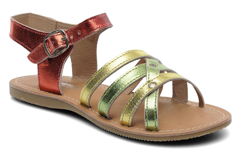 Sandales et nu-pieds Les Tropéziennes par M Belarbi Winny E Multicolore vue détail/paire