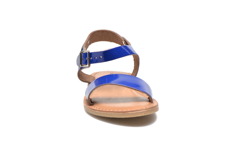 Sandali e scarpe aperte Les Tropéziennes par M Belarbi Hiliona E Azzurro modello indossato