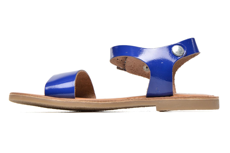 Sandales et nu-pieds Les Tropéziennes par M Belarbi Hiliona E Bleu vue face