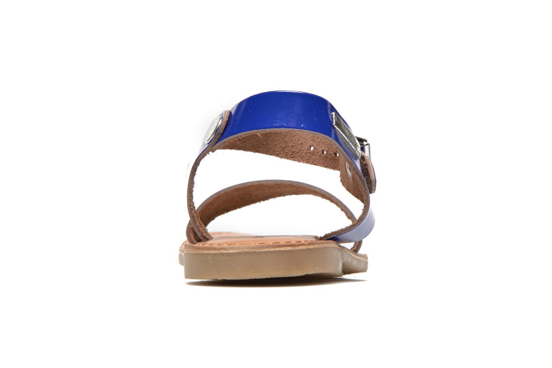 Sandales et nu-pieds Les Tropéziennes par M Belarbi Hiliona E Bleu vue droite