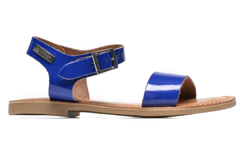 Sandales et nu-pieds Les Tropéziennes par M Belarbi Hiliona E Bleu vue derrière