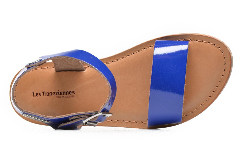 Sandales et nu-pieds Les Tropéziennes par M Belarbi Hiliona E Bleu vue gauche