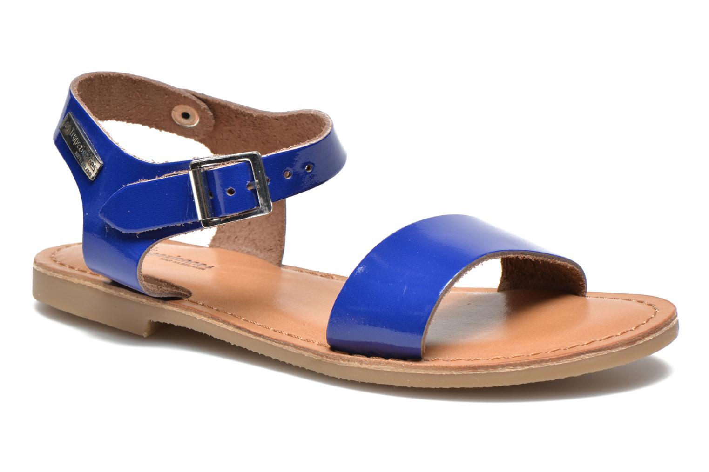 Sandales et nu-pieds Les Tropéziennes par M Belarbi Hiliona E Bleu vue détail/paire